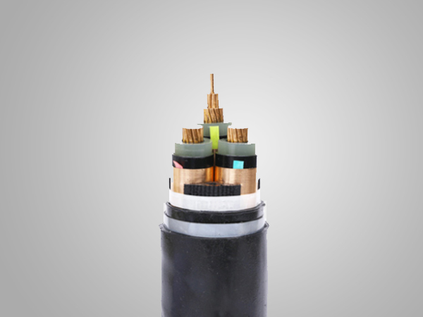 12/20kV Cu(AL)/XLPE /copper tape screen/SWA(STA)/PVC Power Cable(3 CORE)