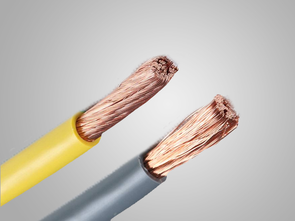 4 core  flexible  copper electric wire cable