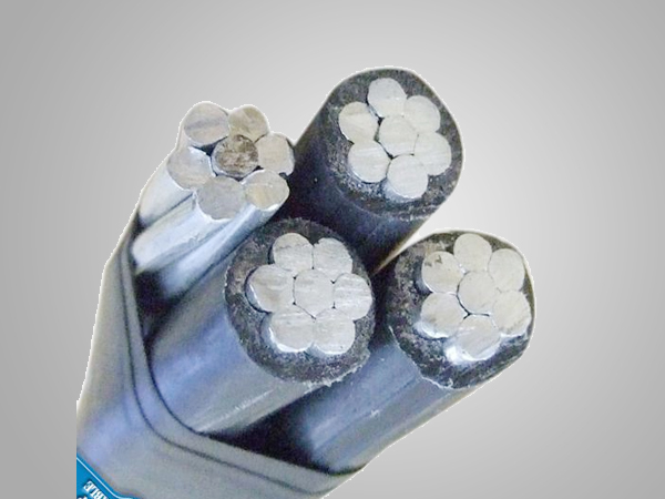 33kv aluminum conductor XLPE insulated aerial bundled abc overhead cable