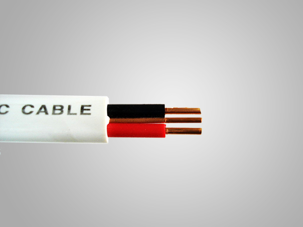 Aluminum Core PVC Insulation PVC Sheath Flat Wire