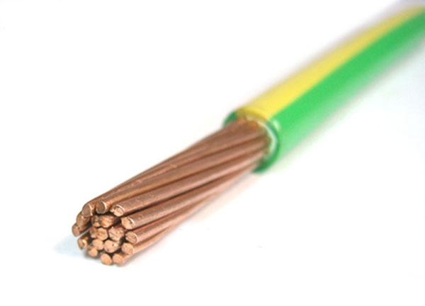 Copper Conductor PVC Insulation Earth Cable